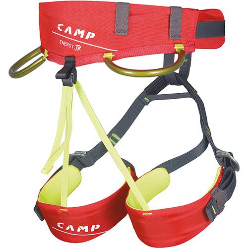 camp energy jr back imbrago rosso bambino